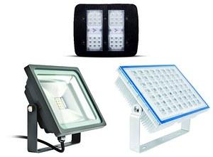 VLED Floodlights - нова серия прожектори с отличителни предимства