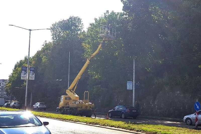 Продължава реконструкцията на уличното осветление в <strong>Плевен</strong>