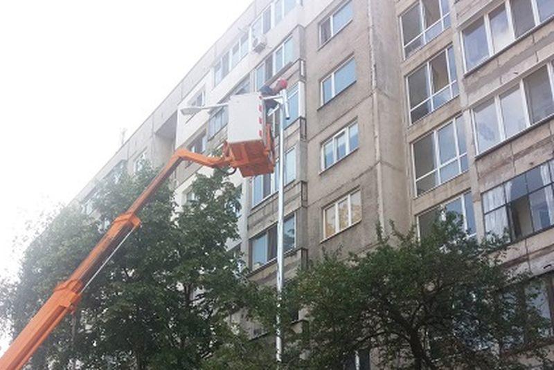 Изграждат ново <strong>улично</strong> <strong>осветление</strong> в столичния район Подуяне