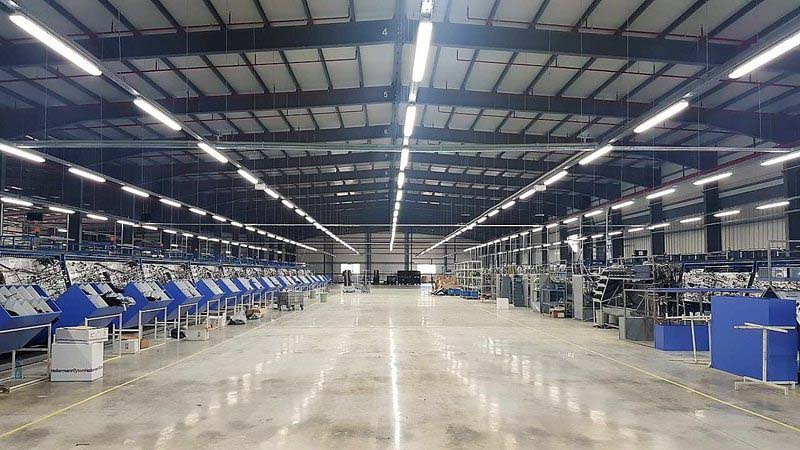 Окта Лайт достави индустриално LED осветление за Нурсан Отомотив