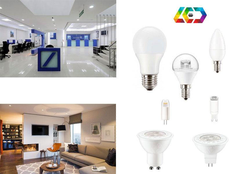 PILA LED лампи - за общо и насочено осветление