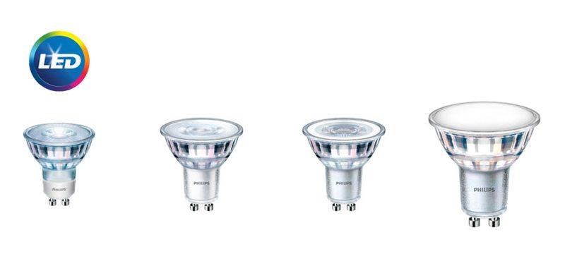 PHILIPS CLA LED spot  - нови енергоспестяващи решения за насочено осветление